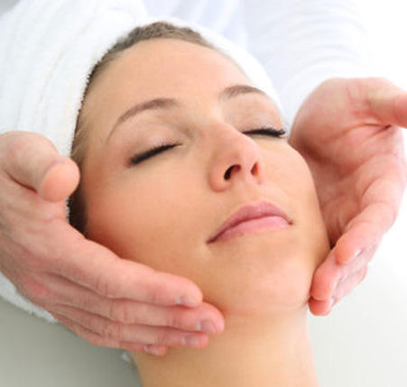 Classical face massage